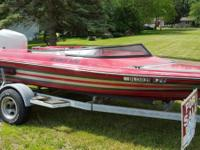 Great running boat! Very fast and fun, pulls tubes and