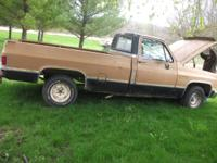 I have for sale an 86 chevy c10 2 wheel drive, the