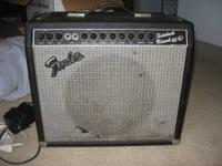 Original Owner of this 65 watt Solid State Amp with