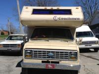 86 Ford Coachmen Motor Home .Miles 54000 .Vin .7.5 V8
