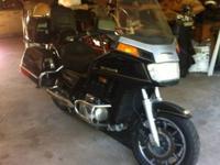 86 Honda goldwing gl1200 39xxx miles runs and rides