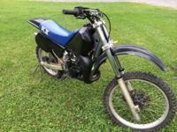 '86 kawasaki kx 125. Rebuilt top end, new crank