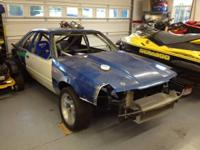 Selling a 1986 Mustang GT hatchback chassis that is