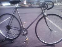 86 SCHWINN WORLD 12 SP ROAD BIKE...21''CHROMOLY