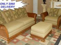 Here is a Stunning Tommy Bahama Style Living Room Set