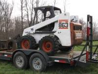 2001 863 Bobcat Turbo Skid Steer - Will except offers