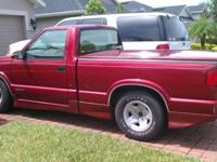 87 S10 4 speed 4 cylinder Runs great. Good on cash.