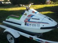 Selling my Kawasaki X2 jet ski. Its in decent shape and