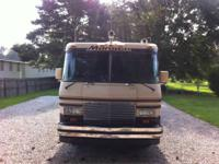 87 37' Monaco motorhome 77097 miles, 454 gas pusher,