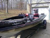 boat is in great conditon motor runs awesome , with
