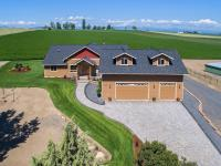 Custom Country Home & Farm: 60 acres with 56.2 acres