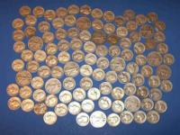 All coins are 1964 or older. All are 90% silver with a