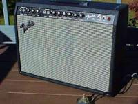 Truly 1 of the rarest of Fender amps. The Fender 30 was