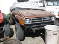 1987 Toyota 4x4 great deals of good parts please