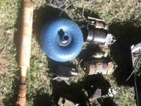 Front drive shaft $40 Torque converter $40 Master