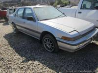 '88 Honda Accord We are dismantling a '88 Honda Accord