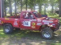 88 Ford Ranger 2 wheel drive, completely caged,