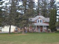 Nice quiet country home on 2 acres with a 2 car