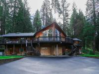 This amazing custom Mountain home is situated on 20