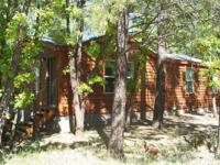 Newer cabin is almost 1000 square feet, has 2 bed rooms