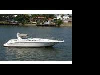 The Sea Ray 400 Express Cruiser is designed for