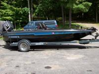 18' Champion bass boat and Champion trailer with