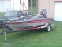 Has a good running mercury 150 black max is water ready