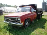 89 Chevy 1-Ton Dump 454-400 Turbo Electric Dump Great
