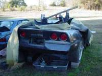 89 Corvette rear clip. Good rear bumper cover, gas tank