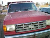1989 ford mini dump. will haul about 3 to 5 tons. Was