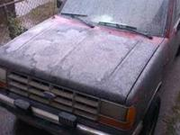 THIS TRUCK RUNS AND DRIVES,its an 89 ford ranger,2wd