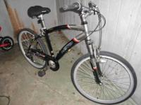 Here is a mans Kent Glendale CS 26 in 7 speed bicycle