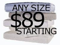 ---$89 MATTRESS SUMMER CLOSEOUT SALE!--- *$89 EACH