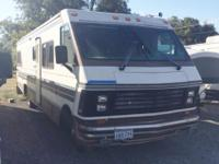 Travel with ease in this 1989 Rockwood Motorhome.