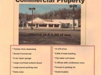 I have a 8944 SqFt commercial property for Lease. It is