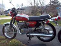 Nice two 1973 suzuki gt 250s , 6900 mis on 1 and just