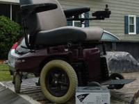 I have a nice, sturdy electric wheelchair for sale. Has