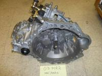 REBUILT TOYOTA MR2 NON/TURBO 5SPEED TRANS 6 MONTH GUAR