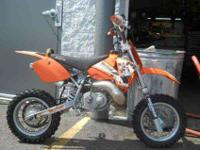 2003 KTM 50 SX PRO JUNIOR, Orange,