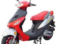 50cc COLORS available (Black, Blue, Red, Yellow) CVT