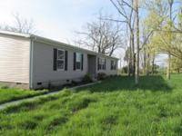 Great 3 bedroom and 2 bath home on a 1.5 acre lot