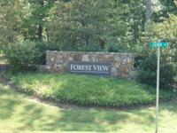 Beautiful Building Lot in Forest View Sub-Division;