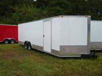 8.5 x 24' Enclosed trailer 2013 model, v -nose (2) 5200