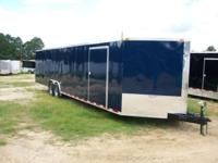 8.5 x 28 enclosed cargo trailer. $500 down gets your