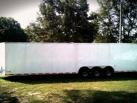8.5 x 34 enclosed cargo trailer we finance call or text
