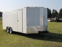 Order your trailer today: 8.5x20 Enclosed Trailer- 20