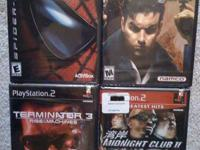 Playstation 2 Games (all Brand New in Original