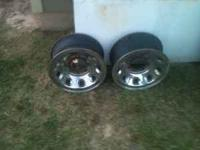 8 lug Ford F-250 rims (stock take offs) steel rims 16""