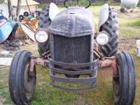 TRACTOR HAS LIKE NEW TIRES ALL WHEEL WEIGHTS PTO AND