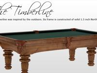 8' Solid Northern Pine Pool Table On Sale........$1,499